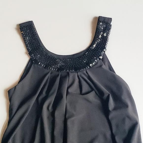 B Darlin Dresses & Skirts - B. Darlin Black Sequin Dress